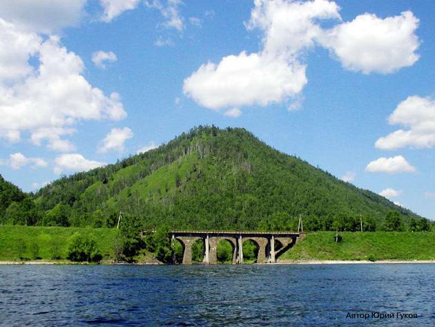 Кругобайкальская железная дорога КБЖД Озеро Байкал Старая Ангасолка Мосты Фото