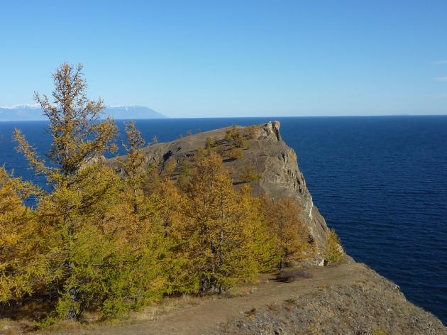 Мыс Хобой остров Ольхон озеро Байкал фото