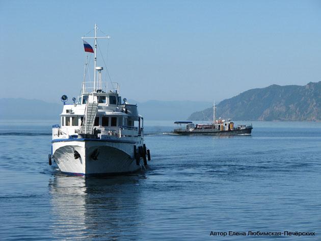 Байкал Кругобайкальская железная дорога КБЖД Между Листвянкой и портом Байкал курсирует паром