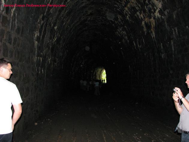 Старая Кругобайкальская железная дорога КБЖД Шумиха Тоннель №11 Фото