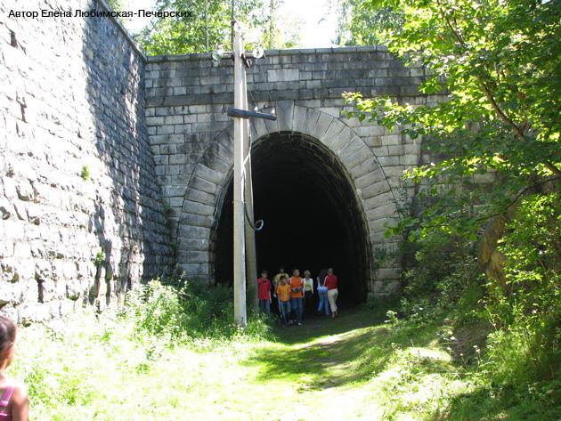 Старая Кругобайкальская железная дорога КБЖД Шумиха Тоннель №11 Фото(вход со стороны Култука)