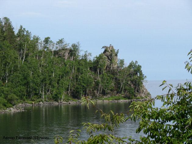 Озеро Байкал Мыс Столбы Фото