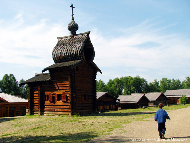 Музей Тальцы. Фото