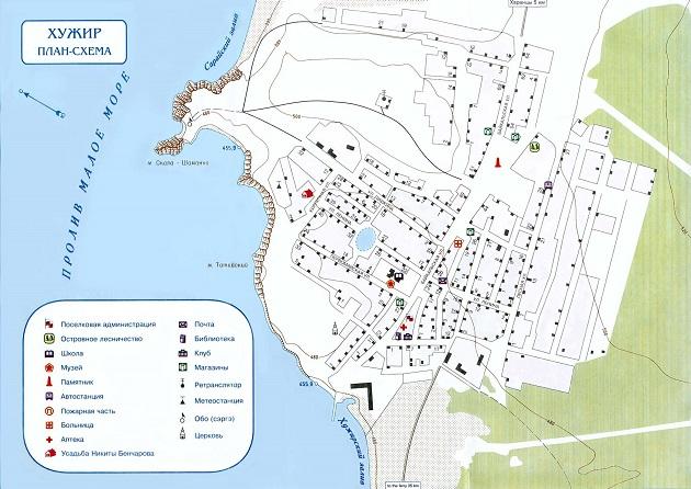 Карта Хужира